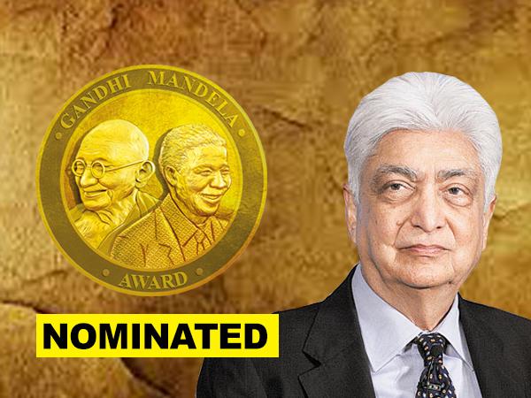 Azim Premji nominated for Gandhi Mandela Award 2019