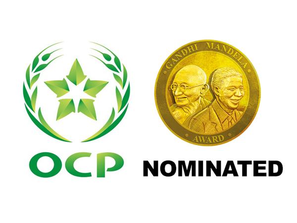 OCP Foundation of Morocco nominated for Gandhi Mandela Award