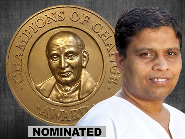 Acharya Balkrishna nominated for Champions of Change Award 2019