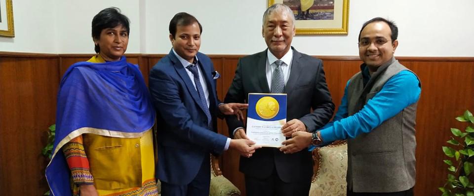 Mr. Maj. Gen. Vetsop Namgyel (Ambassador of Bhutan to the Republic of India)