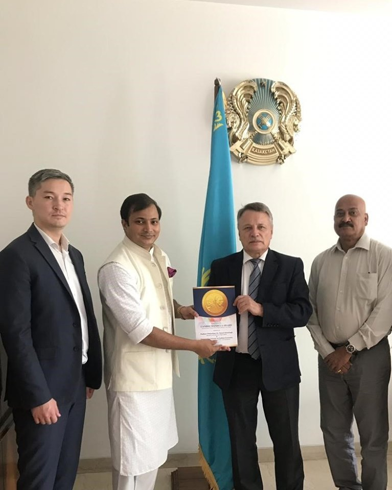 Sergey Savelyev ( Minister - Counsellor of the Republic of Kazakhstan to the Republic of India)