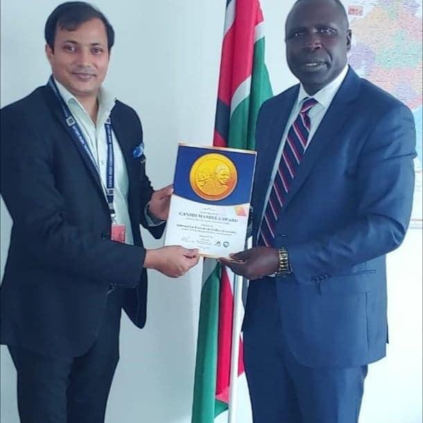 H.E. Mr. Willy Kipkorir Bett Mossi Nyamale<br/> ( High Commissioner of the Republic of Kenya)