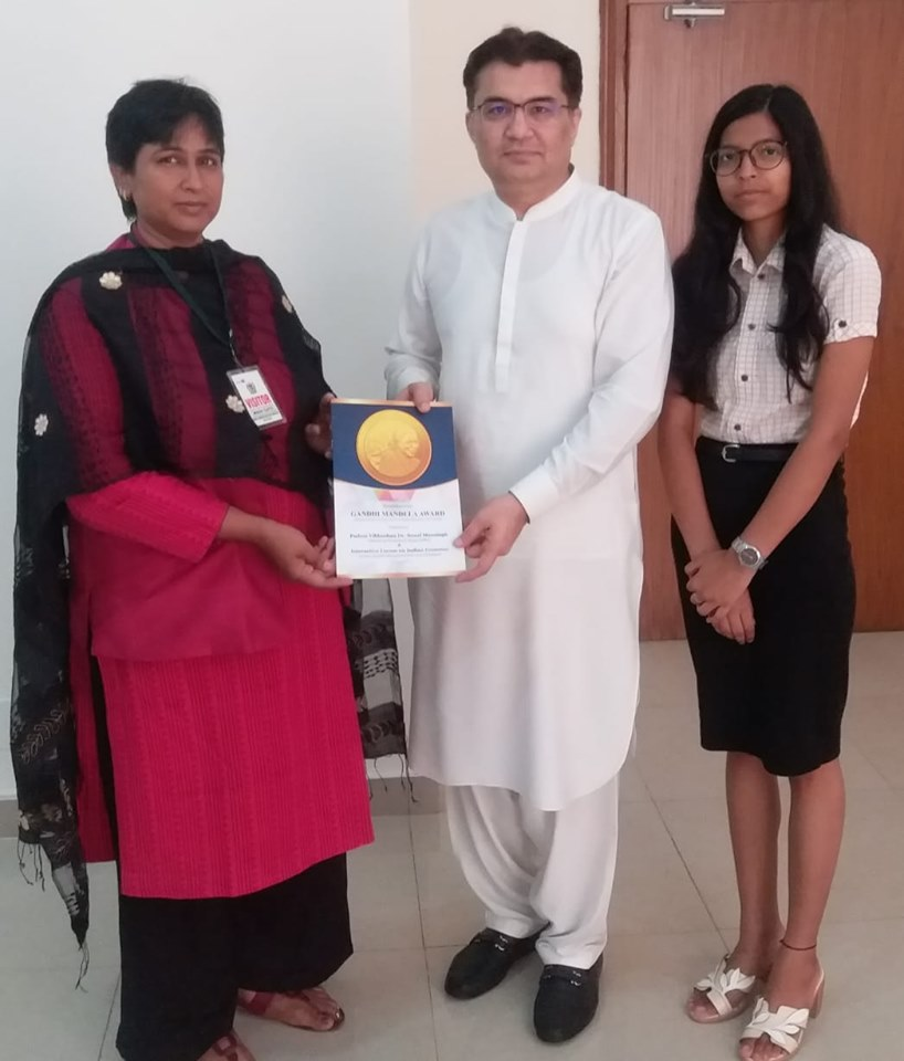 Mr. Aftab Hasan Khan ( Political Minister of High Commission for Pakistan to the Republic of India )