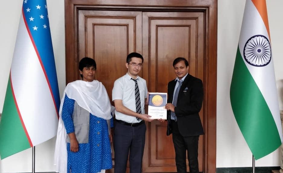 Mr. A'zam Mansurov<br/> (1st Secretary to Ambassador of Uzbekistan)