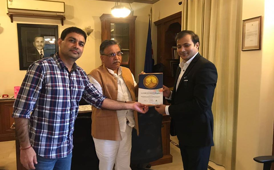 H.E. Dr. Sanjay K. Dewan (Honorary Consul General of Cape Verde to the Republic of India)