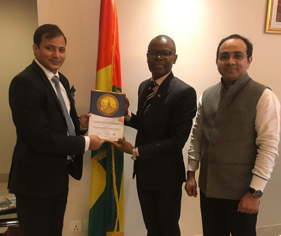 H.E. Mr. Mani kondi (Ambassador of Togo to the Republic of India)