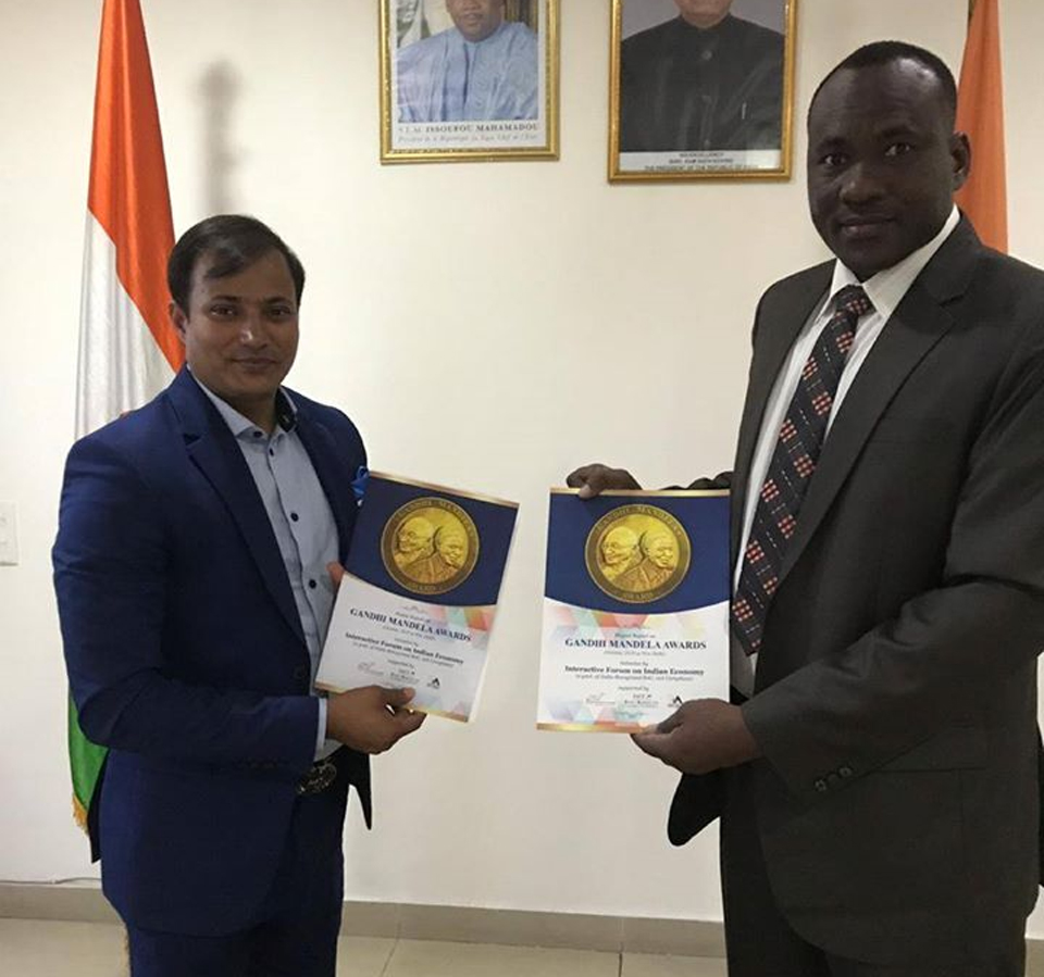 Mr. Souleymane Boureima (Counselor to Ambassador of Niger to the Republic of India)